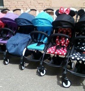 Новая прогулочная коляска baby time (yoya)