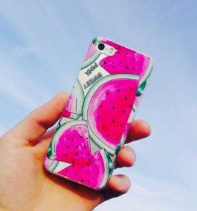 Чехол для IPhone 5/5s, 6/6s🍉