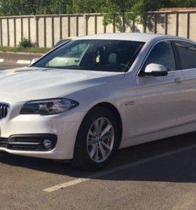 Аренда BMW 5 с водителем