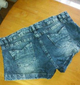 Классные джинсовые шорты calzedonia