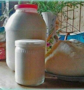 Молоко, сметана,творог