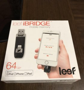 Флешка для iPhone Leef iBridge 64gb