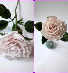 Мастер класс. Керамическая флористика. Роза.