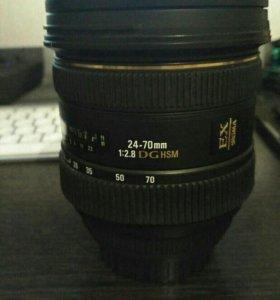 Sigma 24-70mm f/2.8 DG HSM Canon