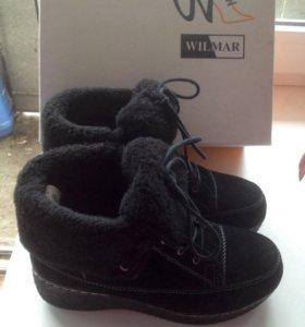 Ботинки зимние женские 36 размер