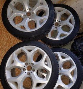 Зимние колеса для BMW x5, x6