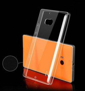 Силиконовый чехол на Nokia Lumia 930
