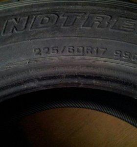 Продам шины Dunlop б/у