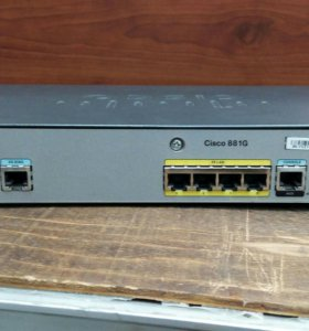 Маршрутизатор Cisco 881