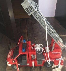 Пожарная машина брудер