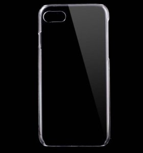Прозрачный чехол на iPhone 7