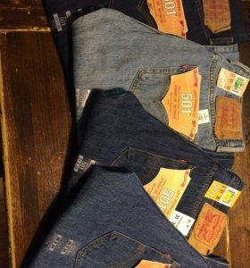Levi's  джинсы 501,505,517 оптом