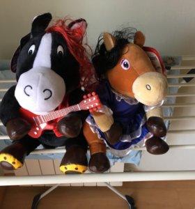 Пара лошадей, новые с этикеткой