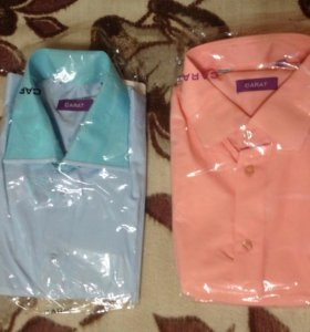 Рубашки мужские ( 2 шт, новые)