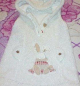 Тёплая платья детская