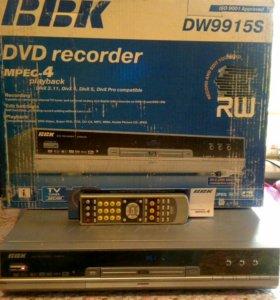 DVD рекордер DW9915s