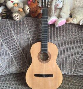 СРОЧНО гитара hohner акустическая с чехлом