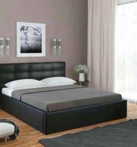 🎉 Кровать С матрасом и экокожи