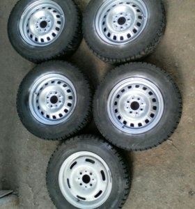 Зимние колеса на R13