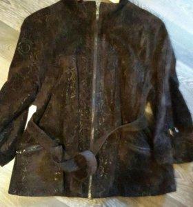 Куртка замшевая р. 50