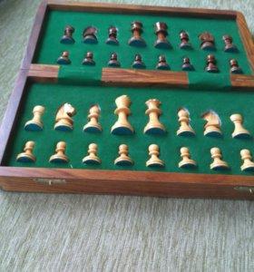 Шахматы подарочные деревянные