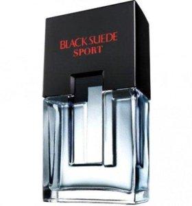 Black Suede Sport