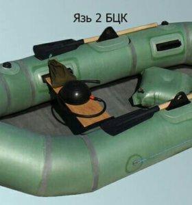 Новая резиновая лодка Язь2