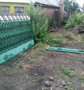 Забор металический