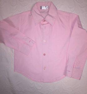 Нежная рубашка, размер 104