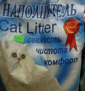 Наполнитель Pussy cat разный