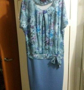 Новое платье размер 52