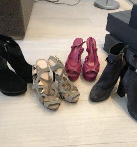 Продам замшевую обувь