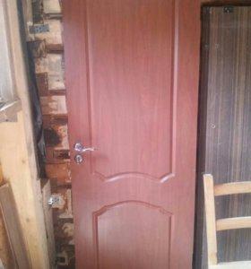 Дверь межкомнатная МДФ 70см *200см и простая 80см.