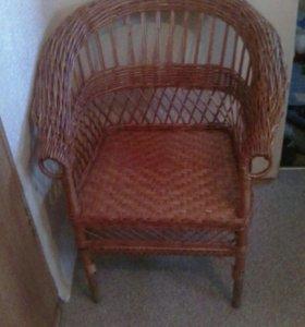 Соломенное кресло