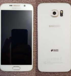 Samsung Galaxy S6 64Gb White 2sim
