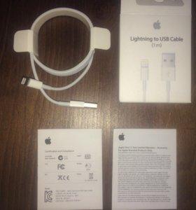 USB кабель на iPhone