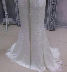 Подрезать подол свадебного платья