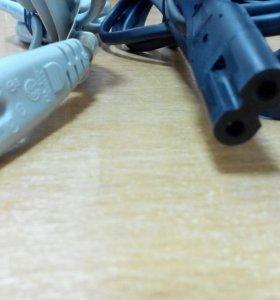 Новые кабели питания 2-pin и 3-pin