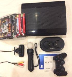 PlayStation 3 (+полный комплект)