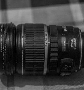 Объектив Canon EF-S 17-55 F 2.8 IS USM + фильтры