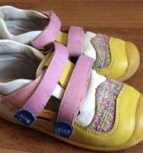 Ботиночки-сандали антилопа 24 размер