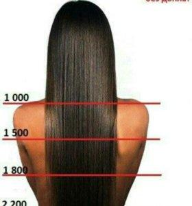 Кератиновое выпрямление/ восстановление волос
