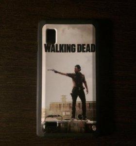 Чехол The Walking Dead для LG Optimus L9