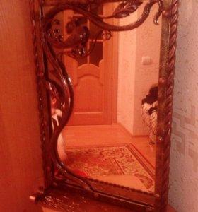 Кованное зеркало,очень красивое