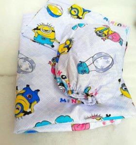 Комплект постельного белья из китайского хлопка