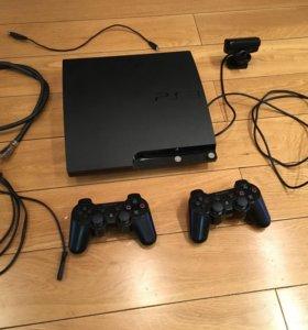 PlayStation 3 + 50 игр на дисках