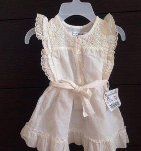 Платье для малышки Zara