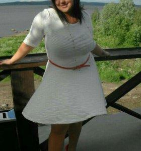 Платье мягкий трикотаж