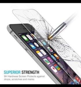 Защитное стекло для iPhone 4 5 6 7