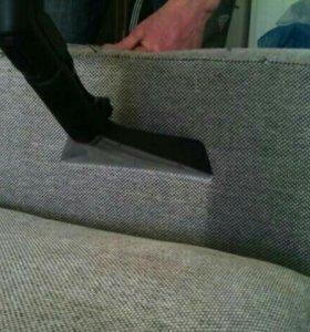 Химчистка ковров, кресел, диванов